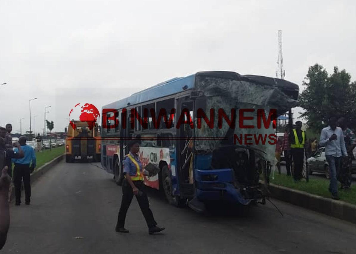 Deadly Accident Along Ikorodu Road, Dangote Trailer & BRT