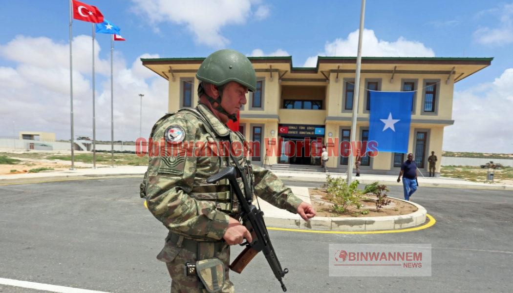 Attacks on Somali military base