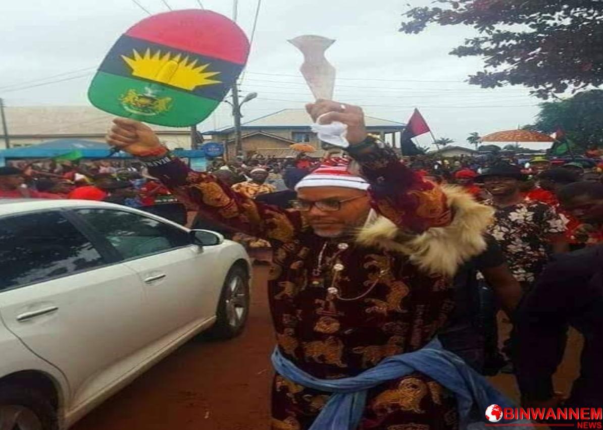 """Ndi Eze Imo: Crown the leader of the Indigenous People of Biafra, Mazi Nnamdi Kanu, """"IHE NKE AFRICA 1"""""""