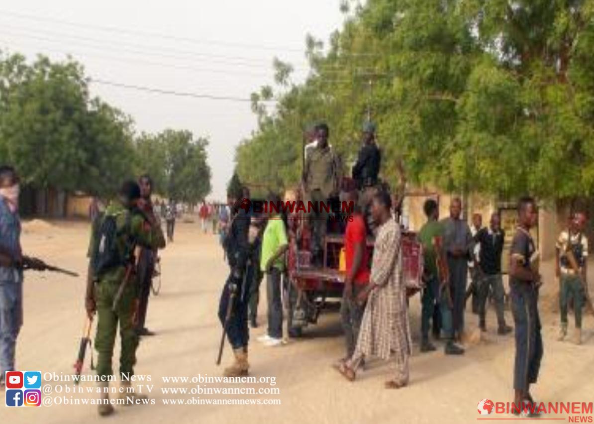 Suspected Boko Haram Terrorists mount roadblock in Maiduguri, kill 7 travellers