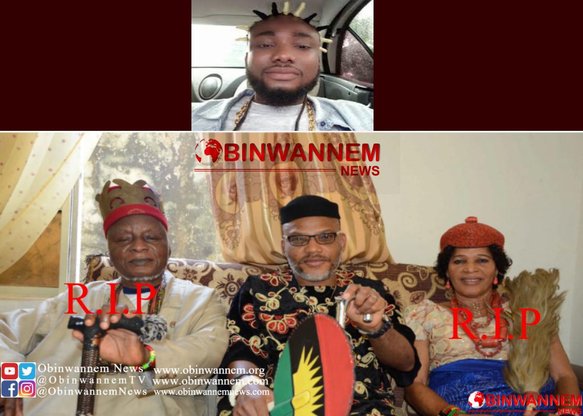 My Condolences goes to the family His Royal Majesty Sir Eze Israel Okwu Kanu – Sampe Master (Video)