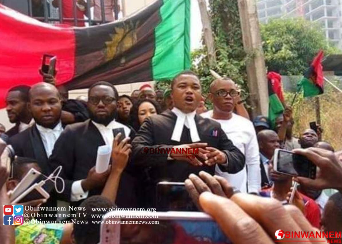 Oraifite Invasion: Nnamdi Kanu's Lawyer, Ejiofor, Sues Police, Demands N2bn