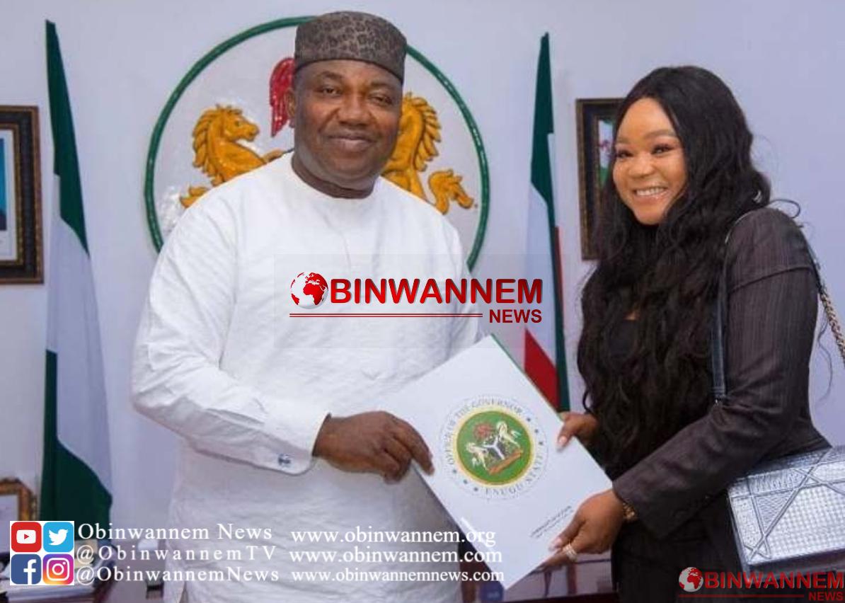 Actress Rachael Okonkwo announced Ambassador in Enugu
