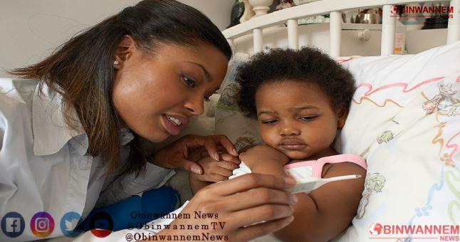 Stop fever in children