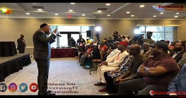Keywords of Mazi Nnamdi Kanu's broadcast of September 9, 2020
