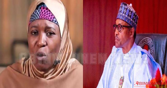 Aisha calls Buhari an 'oxygen-wasting vessel' in Aso Rock