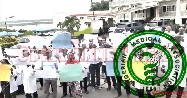 Nigeria Medical Association in Imo begins indefinite strike