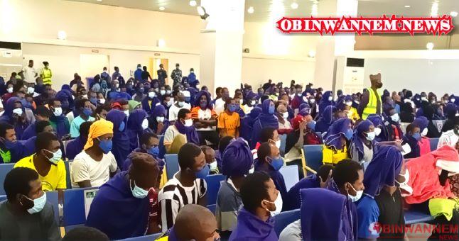 384 Nigerians deported from Saudi Arabia arrives Abuja