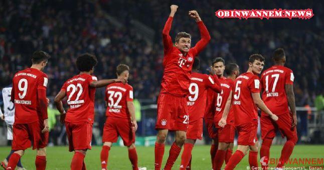 Bayern Munich thumps broussia Dortmund 4:2
