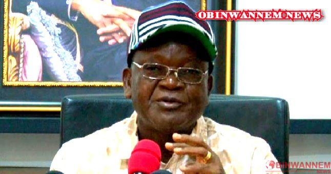 Benue governor narrates ordeals on assassination attempt by herdsmen