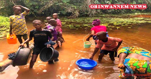 Enugu residents outcry water scarcity