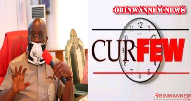 Imo prisonbreak: Abia governor imposes indefinite curfew