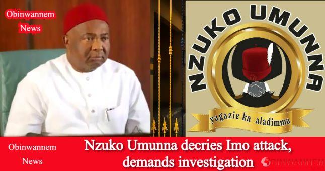 Nzuko Umunna decries Imo attack, demands investigation