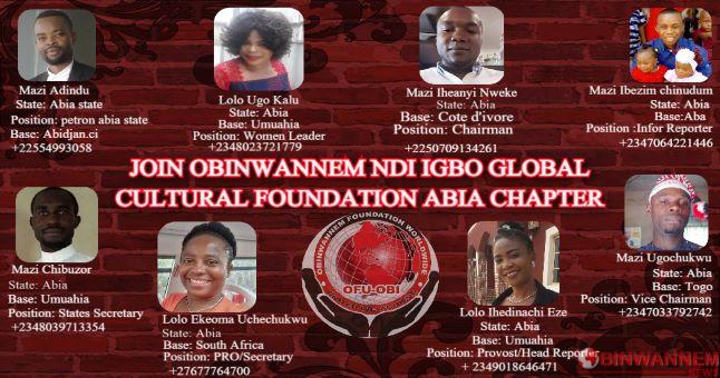 Obinwannem Abia executive meeting held on November 08, 2020