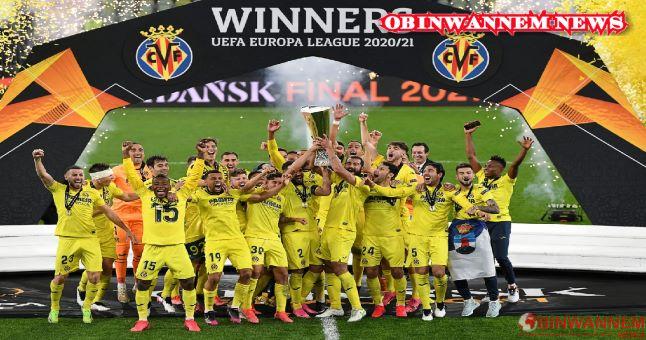 Europa League Final: De Gea's miss in penalties seals victory for Villarreal