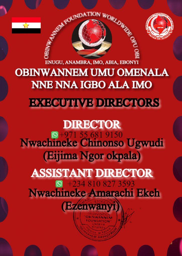 Obinwannem Foundation worldwide