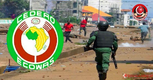 Ecowas suspends Guinea over 'military coup'