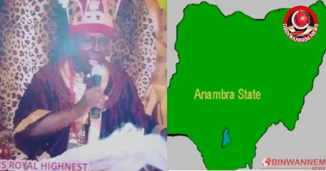 Gunmen murders Anambra dethroned Monarch and driver