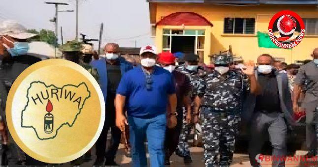Huriwa warns Uzodinma to desist from killing innocent Biafra amid Buhari's visit