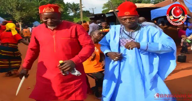 """The Ancient history of """"Onwa asaa festival"""" of Ndi Ugo Iheaka Nsukka, Enugu State was revealed."""
