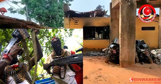 Inspector killed, 2 officers injured as gunmen attack Ebonyi police station